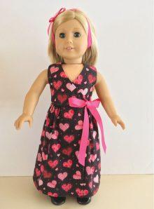 Valentine Wrap Dress