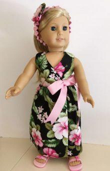 Hawaiian Wrap Around Dress